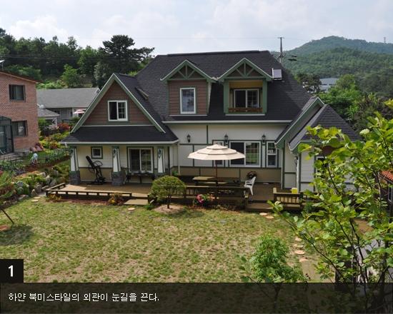 천창(天窓) 달아 따뜻한 실내공간 연출한 친환경 주택