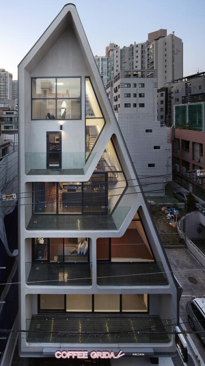건축비 7억, 6층 뾰족집… 디자인으로 재테크 했죠