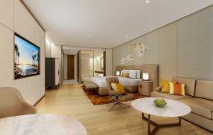 제주 최고층서 5성급 호텔 서비스 누리는 럭셔리 레지던스