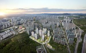 '서울 이웃' 의정부에 더샵 아파트 첫 선