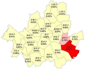 8·2 대책 힘 다했나…강동 이어 강남구 집값도 상승