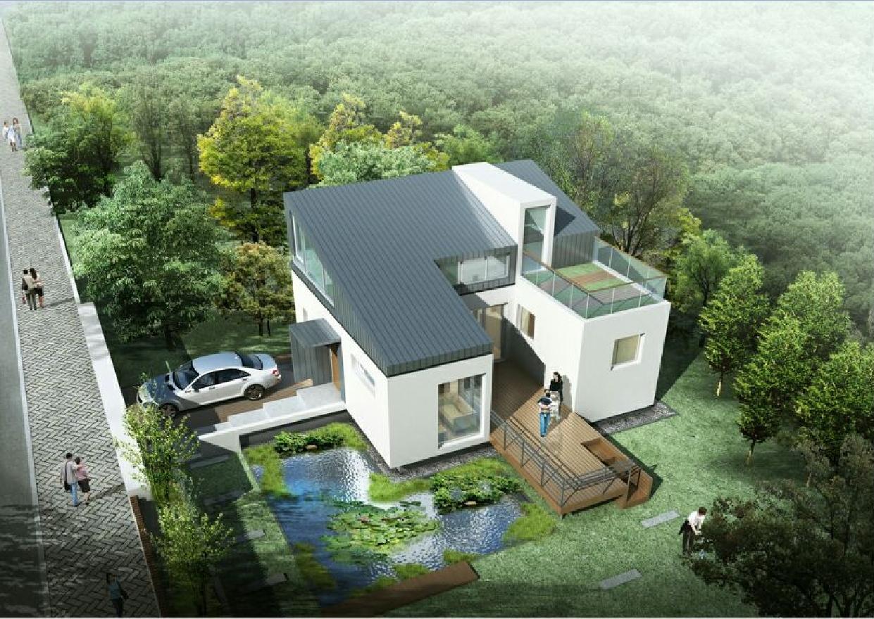 렛츠고시골·스마트하우스, 고급 모듈러주택 출시…프랑스 공인건축사 디자인